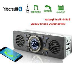 Car Radio Dual Speaker MP3 Player Stereo Bluetooth Audio FM