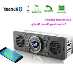 Car Radio Speaker MP3 Player TF Stereo USB Bluetooth FM 12V