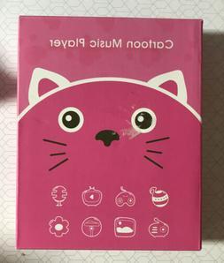Wiwoo Cartoon MP3 Music Player Q10 Cute! Pink 8GB Bluetooth