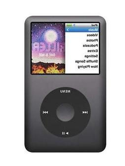 Apple 160GB iPod classic, Black