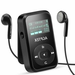 Clip Mp3 Player With Bluetooth 4.0, Agptek 8Gb Lossless Musi
