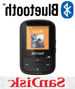 SanDisk Clip Sport Plus 16GB BLACK Wireless Bluetooth MP3 Pl
