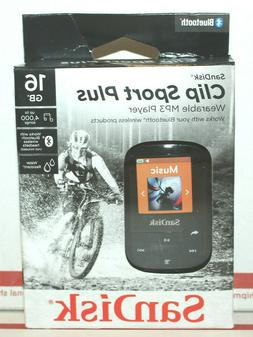 Sandisk - Clip Sport Plus 16gb* Mp3 Player, SDMX28-016G-A46k