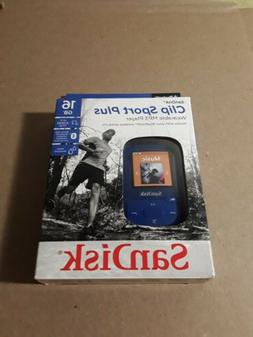 clip sport plus wearable 16gb mp3 player