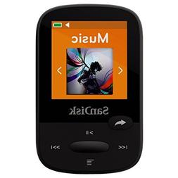 SanDisk Clip Sport - 4GB MP3 Player with LCD Screen and Micr