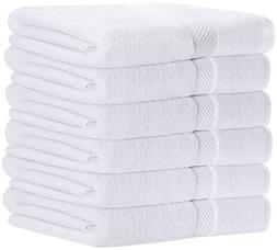 Utopia Towels 100% Cotton White Bath Towels Set  Lightweight