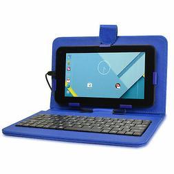 "Craig CMP791 7"" Android Tablet Quad Core 16GB w/ Cams Blue K"