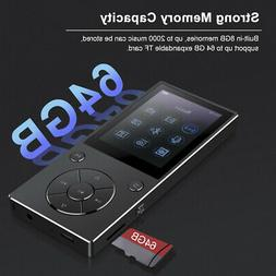 RUIZU D11 8GB MP3 MP4 Music Player Bluetooth FM Radio Voice