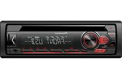 Pioneer Single DIN In-Dash CD/CD-R/RW, MP3/WMA/WAV AM/FM Fro