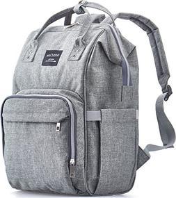 KiddyCare Diaper Bag Backpack - Multi-Function Waterproof Ma