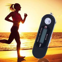 Digital 32GB MP3 USB Music Player LCD Screen FM Radio Record