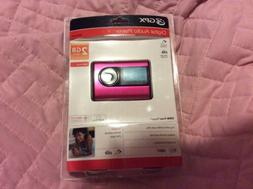 GPX Digital Audio MP3 Player Brand New In Box Hot Pink 2 GB