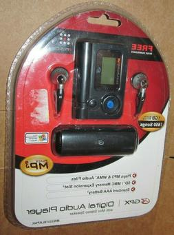 GPX Digital Audio Player MP3 MW3337 1GB Built In Memory SD S
