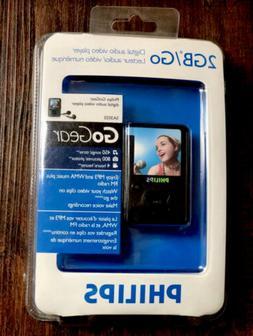 Philips Digital Audio Video Player GoGear SA3025 2GB MP3 WMA