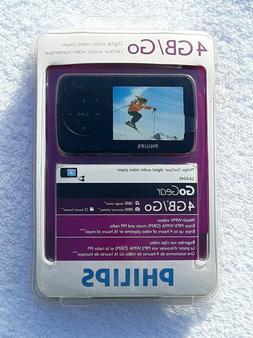 Philips Digital Audio Video Player GoGear SA6045 4GB MP3 WMA