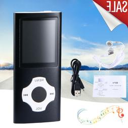 Digital Compact Portable MP3 MP4 Player 64 GB SD Photo Viewe