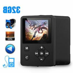 "Digital HiFi MP3 MP4 Player 1.8"" Color Screen FM Radio Video"