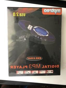 Digital MP3 Player. USB 2.0. mptreo. EMB 230AF