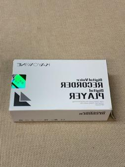 Digital Voice Recorder KAYOWINE Digital Player MP3 8 GB Expa