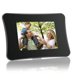 Coby DP710 7-Inch Widescreen Digital Photo Frame with MP3 Pl