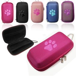 Durable Animal PAW Fabric MP3 Player Clamshell Case, Phillip