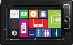 Dual Electronics DV604i Multimedia 6.2 inch Digital TFT Touc