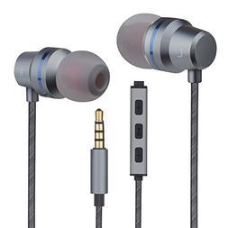Earbuds Ear Buds Headphones Volume Control Stereo in-Ear Ear