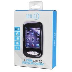 "Eclipse T2810C 2.8"" LCD 4GB Digital Music Video MP3 Player a"