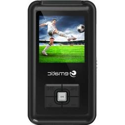 EM208VID 8 GB Black Flash Portable Media Player