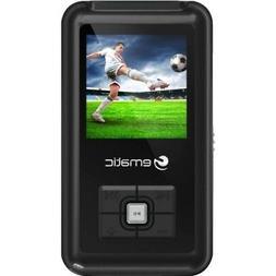 EM208VID 8 GB Black Flash Portable Media Player