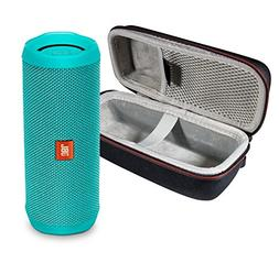 JBL Flip 4 Portable Bluetooth Wireless Speaker Bundle with P