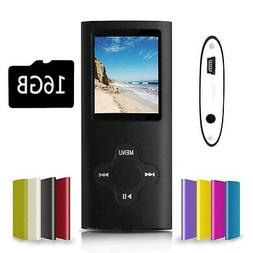 G.G.Martinsen Black Versatile MP3/MP4 Player with a Micro SD