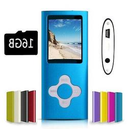 G.G.Martinsen Blue Versatile MP3/MP4 Player with a Micro SD