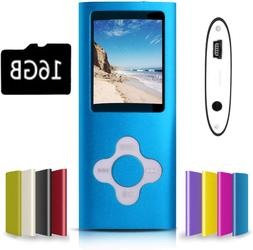 G.G.Martinsen Blue With White Versatile Mp3/Mp4 Player With