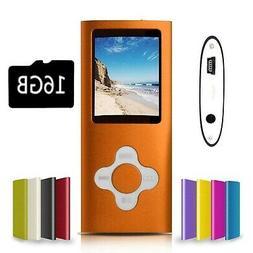G.G.Martinsen Orange with White Versatile MP3/MP4 Player wit