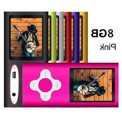 G.G.Martinsen Pink 8GB Versatile MP3/MP4 Player with Photo V