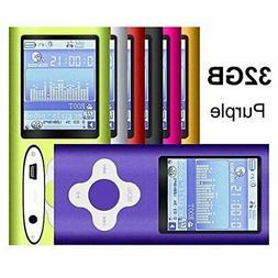 G.G.Martinsen Purple 32GB Versatile MP3/MP4 Player with