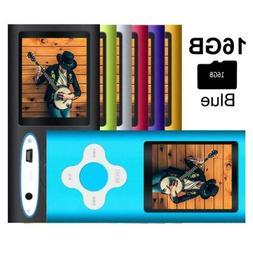 G.G.Martinsen Versatile Blue MP3/MP4 Player with a 16GB Micr