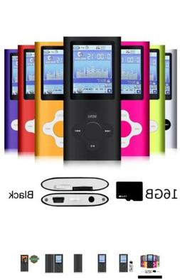 G.G.Martinsen Versatile MP3/MP4 Player with a 16GB Micro SD