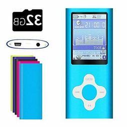G.G.Martinsen White on Blue Versatile MP3/MP4 Player, Suppor
