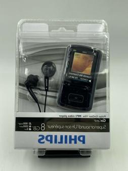Philips Go Gear Vibe 8 GB Digital Media MP3 FM Radio Player