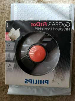 Philips GoGEAR FitDot 4GB MP3 Player - Black/Orange