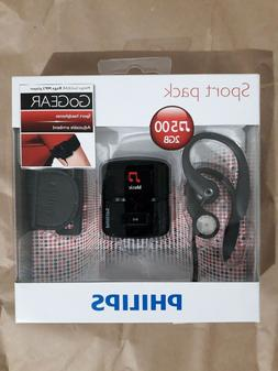 Philips GoGear Raga 2GB MP3 Player SA3RGA02KS/37 New Unopene