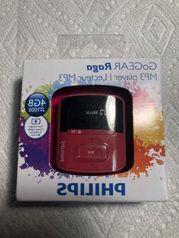 philips gogear raga MP3 player 4GB