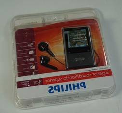 Philips GoGear Vibe 4 GB MP3 Player