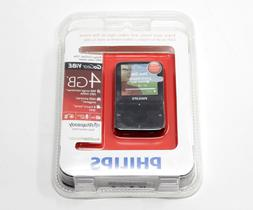 PHILIPS GoGear ViBe 4gb Black MP3 video player New & Sealed