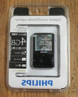 Philips GoGear ViBE 4GB MP3 Video Player