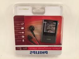 Philips GoGear Vibe MP3 Music Video Player 8 GB SA3VBE08K/37