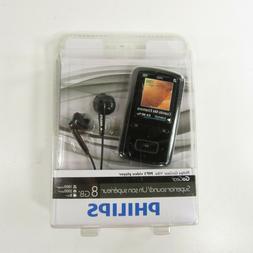 Philips GoGear Vibe MP3 Music Video Player 8 GB SA3VBE08K/37