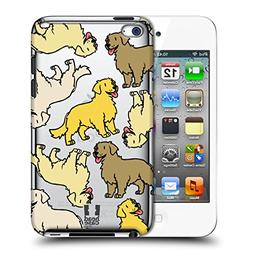 Head Case Designs Golden Retriever Dog Breed Patterns 3 Hard
